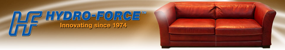 Leather Cleaning Products - Hydro-Force