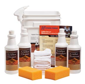 Professional Leather Cleaning Kit