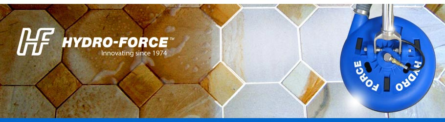 Hydro-Force Tile and Grout Hard Surface Cleaning Tools