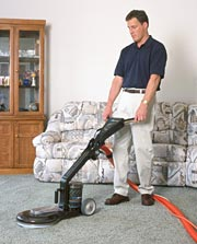 Residential Carpet Cleaning Job