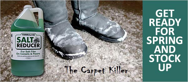 Winter Salt Stains - The Carpet and Floor Killer