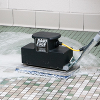 Cleaning Tile and Grout - Tomcat Nano Orbital Scrubber